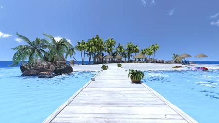 gorgeousness: beach Stock Photo