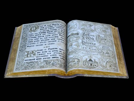 hard cover: old book