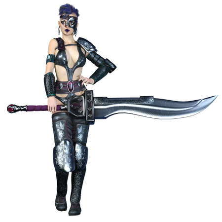 warrior sword: female warrior