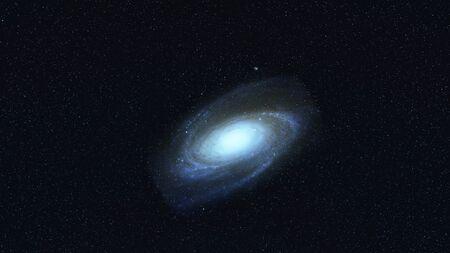 Milky way Standard-Bild