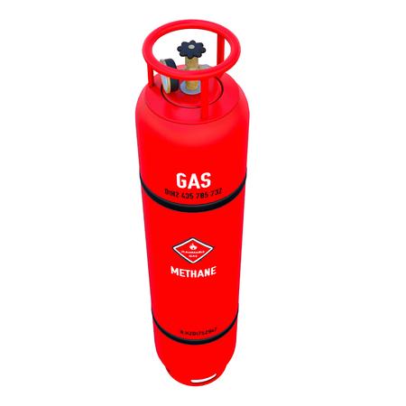 高圧ガス容器 写真素材