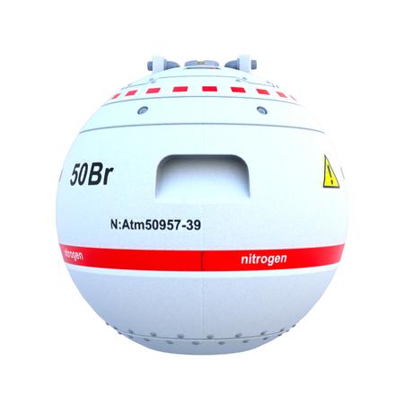 nitrogen: Nitrogen storage container