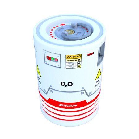 hidrogeno: Hidr�geno pesado contenedor de almacenamiento