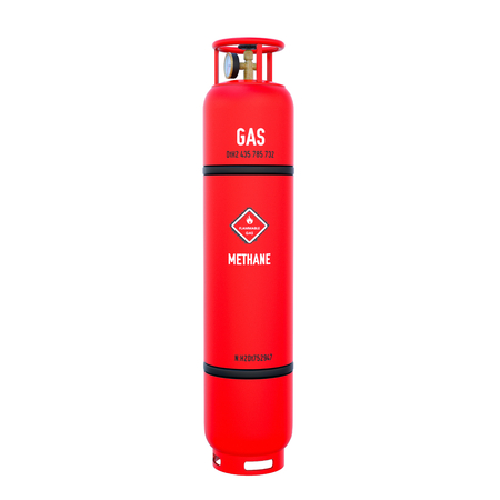 gas cylinder: gas cylinder Stock Photo