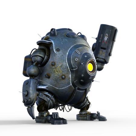 battle robot Фото со стока
