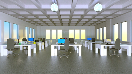 spaciousness: office space