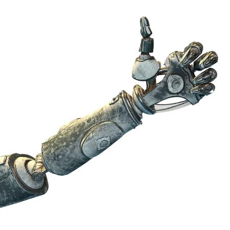 arm: robot arm Stock Photo