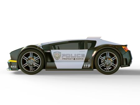 patrol car: police car