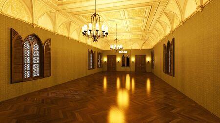 formality: grand hall