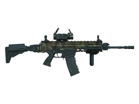 machine gun: machine gun