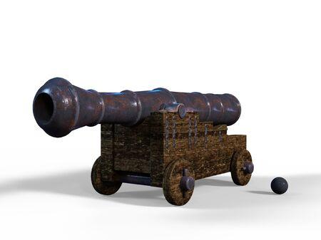 gunpowder: cannon