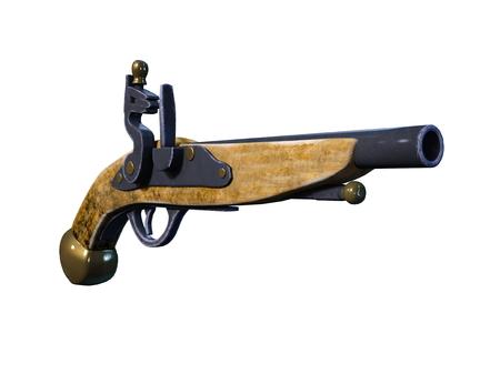 flint gun: gun