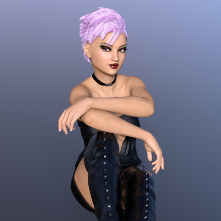 enslaved: young woman