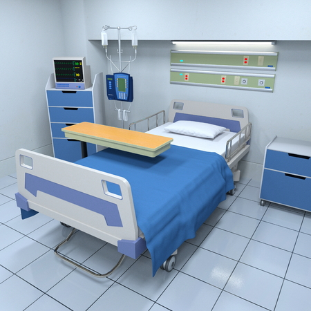 sickroom Stock Photo
