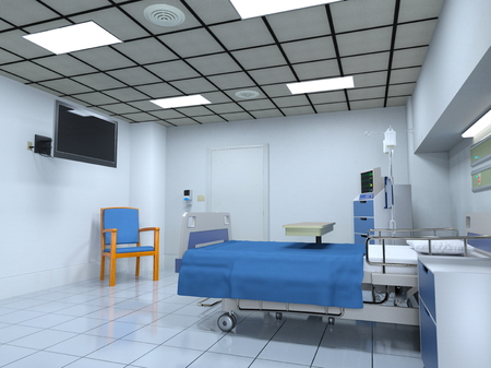 hospital room: sickroom Stock Photo