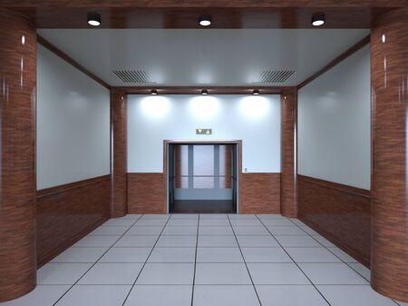 passage: elevator passage