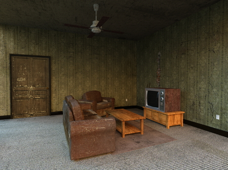 unoccupied: living room