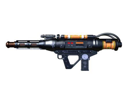 radioactivity: radioactivity gun Stock Photo