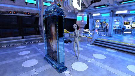 r image: alien