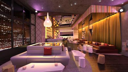 Bar Stockfoto