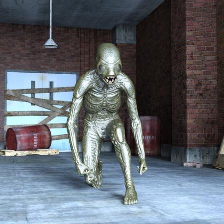 merman: monster