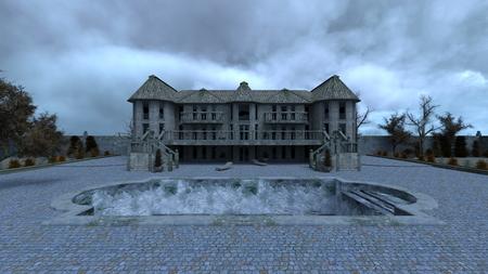 dilapidation: cottage