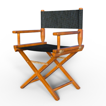 director's chair: Directors chair Stock Photo