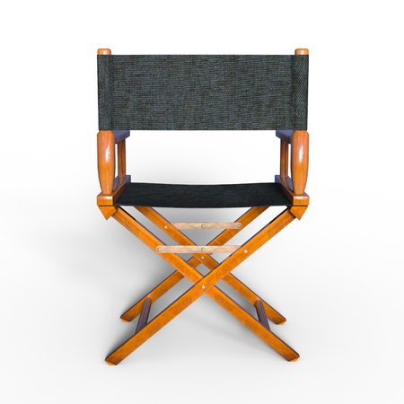 directors: Directors chair Stock Photo