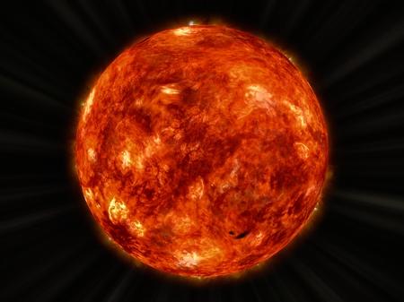 Sun Standard-Bild