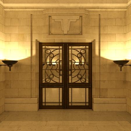 formality: entrance hall