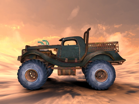 cami�n de reparto: camioneta