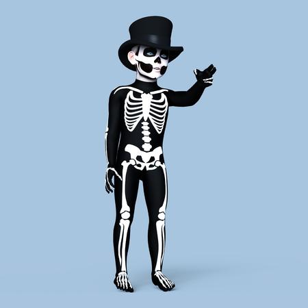 skeleton costume: skeleton costume kid