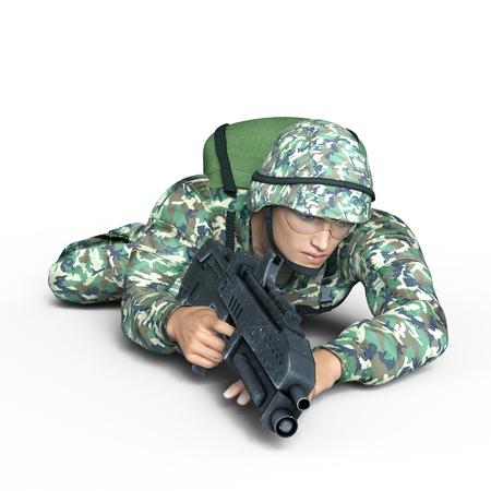 兵士 写真素材