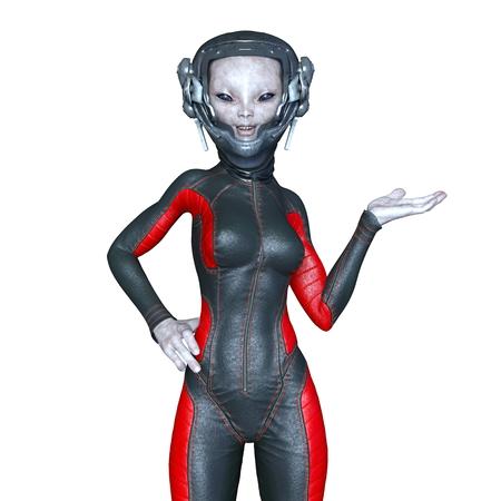 alien women: female alien