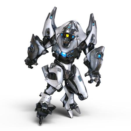 them: mechanical monster Stock Photo