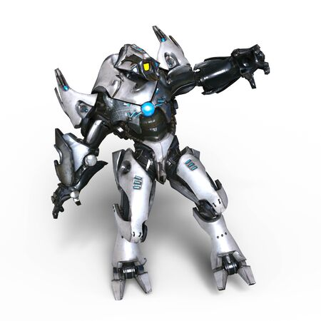 mechanical monster Zdjęcie Seryjne
