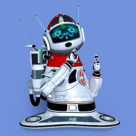 talking robot: Robot Stock Photo