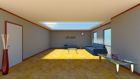 living room: living room