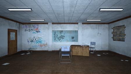 dilapidation: classroom