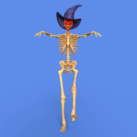 skeleton Banco de Imagens