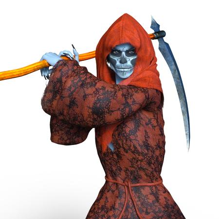 daemon: Grim Reaper Stock Photo