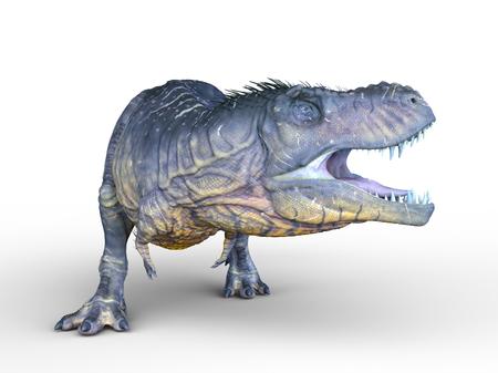 ancient creature: dinosaur Stock Photo