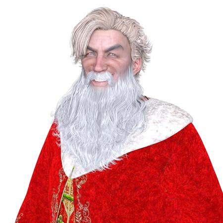 saint: Saint Nicholas Stock Photo