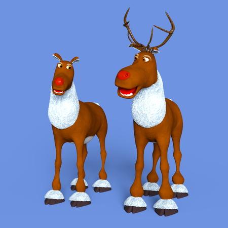 plural number: reindeers