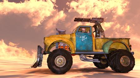pickup truck: pickup truck