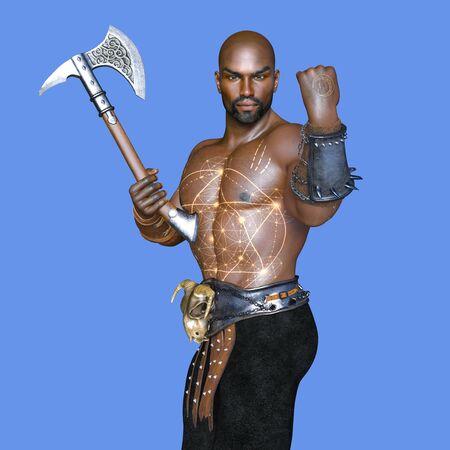 cuerpo entero: warrior