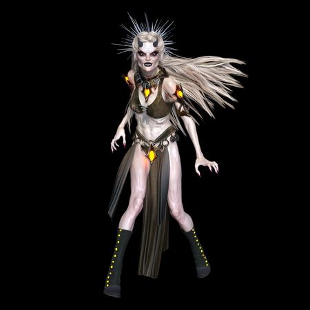 female monster