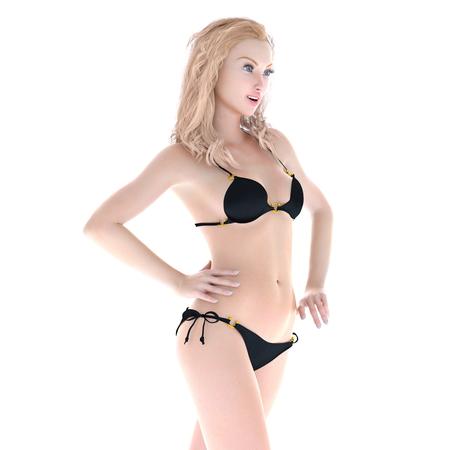 bikini woman