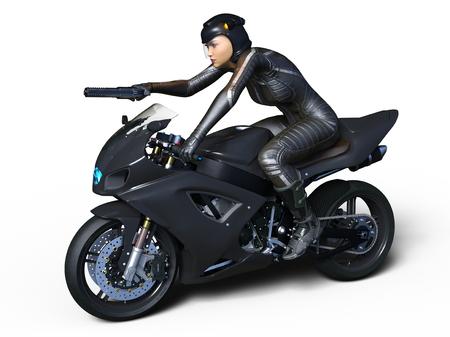 super woman rider