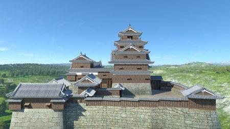 Japanese castle Editorial